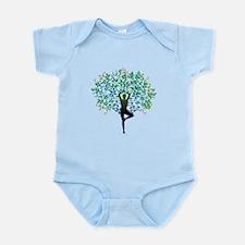 Yoga Tree Pose New Body Suit
