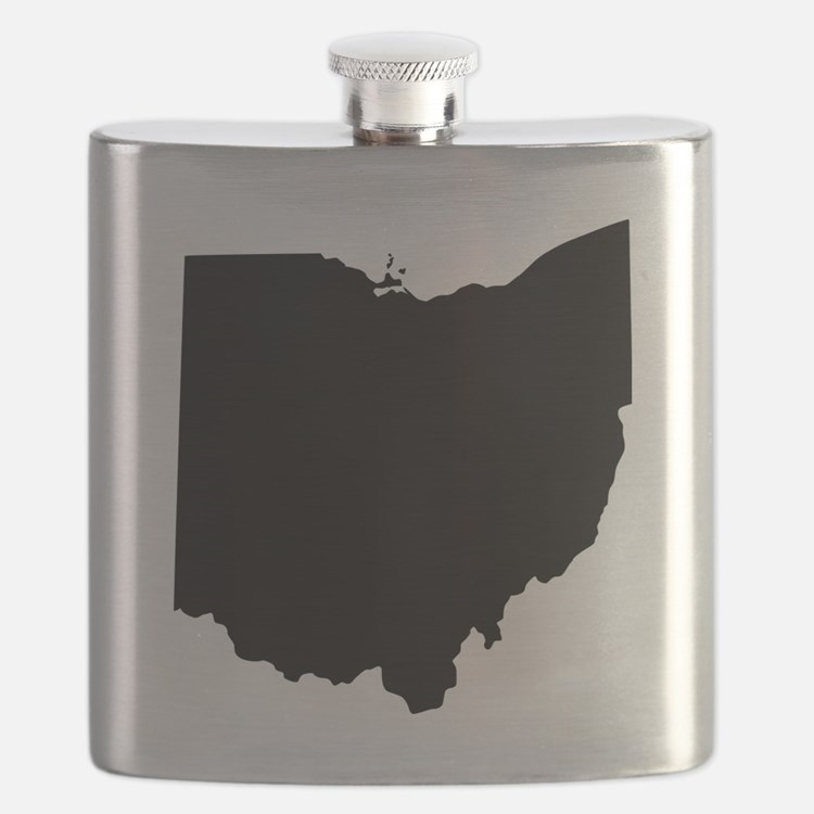 Black Ohio Flask