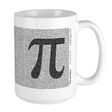 Pi Coffee Mugs