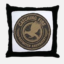 Catching Fire Haymitch Abernathy Throw Pillow