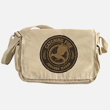 Catching Fire Johanna Mason Messenger Bag