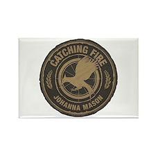 Catching Fire Johanna Mason Rectangle Magnet