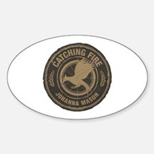 Catching Fire Johanna Mason Decal