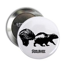 "Skunk Logo 2.25"" Button"