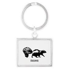 Skunk Logo Keychains