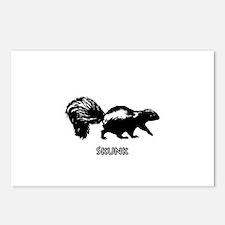 Skunk Logo Postcards (Package of 8)