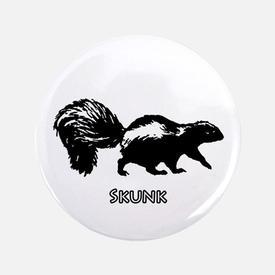 "Skunk Logo 3.5"" Button"