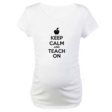 Keep Calm Teach On Shirt