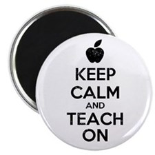 Keep Calm Teach On Magnet