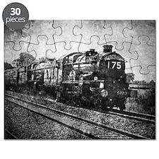 vintage steam train Puzzle