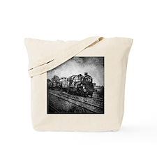 vintage steam train Tote Bag