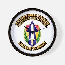 Army - II Field Force, Vietnam Wall Clock