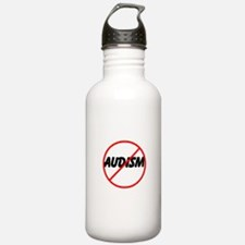 Stop Audism Water Bottle