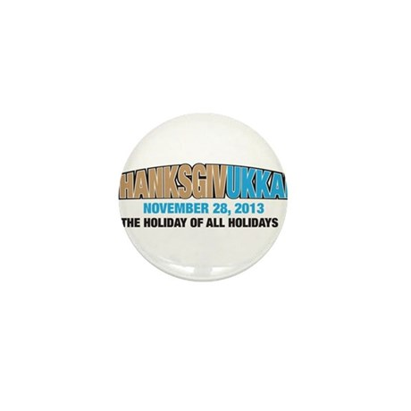 Thanksgivukkah Mini Button (10 pack)