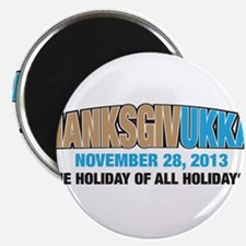 "Thanksgivukkah 2.25"" Magnet (10 pack)"