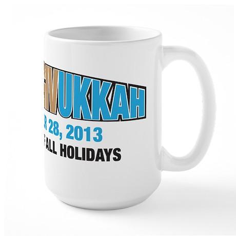 Thanksgivukkah Large Mug