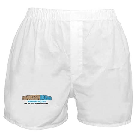 Thanksgivukkah Boxer Shorts