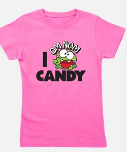 CUT THE ROPE - I OM NOM CANDY Girl's Tee