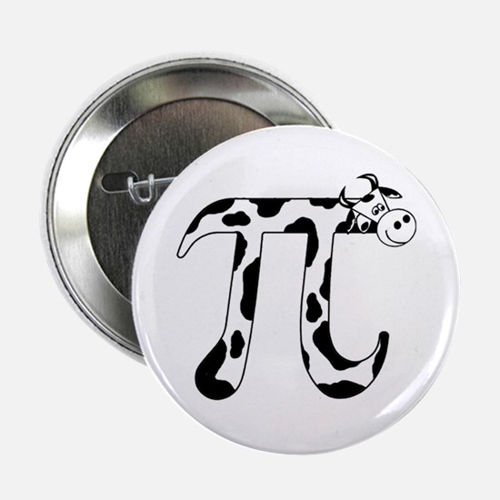 """Cow Pi 2.25"""" Button (10 pack)"""