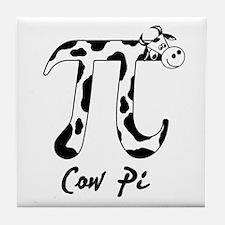 Cow Pi Tile Coaster