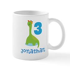 3rd Birthday Dinosaur Personalized Mugs