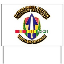 Army - II Field Force, Vn w SVC Ribbon Yard Sign