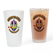 Army - II Field Force, Vn w SVC Ribbon Drinking Gl