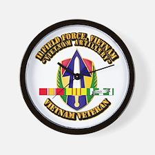 Army - II Field Force, Vn w SVC Ribbon Wall Clock