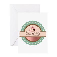 1959 Birth Year Birthday Greeting Card
