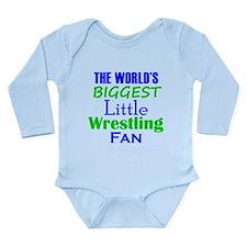Biggest Little Wrestling Fan Body Suit