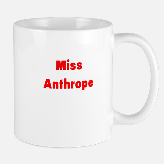 Miss Anthrope Mugs