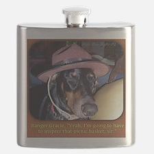 Ranger Doberman Flask