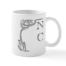 Negative Confession Grey Goth Mug