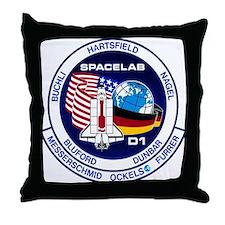 STS-61A Challenger Throw Pillow