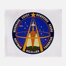 STS-61 Endeavour Throw Blanket