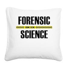 Crime Scene Square Canvas Pillow