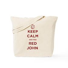 Keep Calm Red John The Mentalist Tote Bag