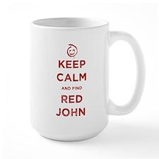 Keep Calm Red John The Mentalist Mugs