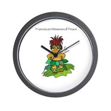 Kolohe the Missionary Hula Dance Wall Clock