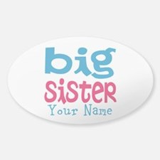 Personalized Big Sister Decal