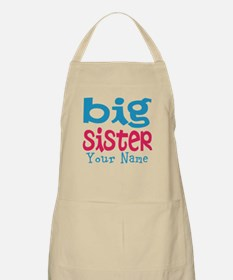 Personalized Big Sister Apron