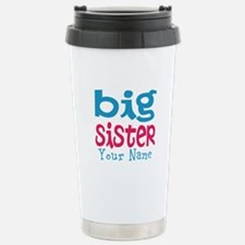 Personalized Big Sister Travel Mug