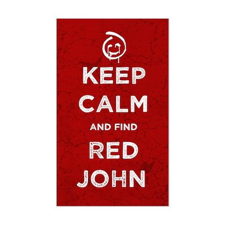 Keep Calm Red John The Mentalist Sticker
