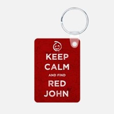Keep Calm Red John The Mentalist Keychains