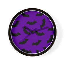 'Bats' Wall Clock