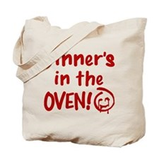 Red John Dinners In The Oven Tote Bag