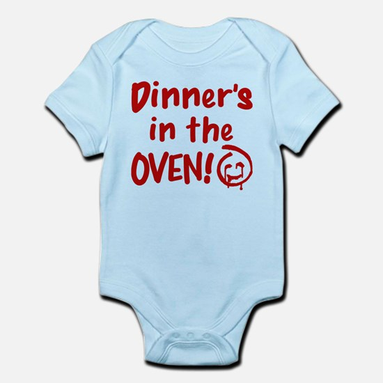 Red John Dinners In The Oven Body Suit