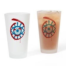 The Mentalist Visualize Red John Drinking Glass