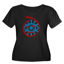 The Mentalist Visualize Red John Plus Size T-Shirt