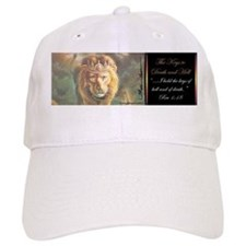 """ Keys to Death and Hell"" Fine Art Christian Baseball Cap"